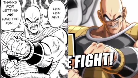 Dragon Ball FighterZ: Nappa es una bestia y cada ataque suyo está calcado del manga