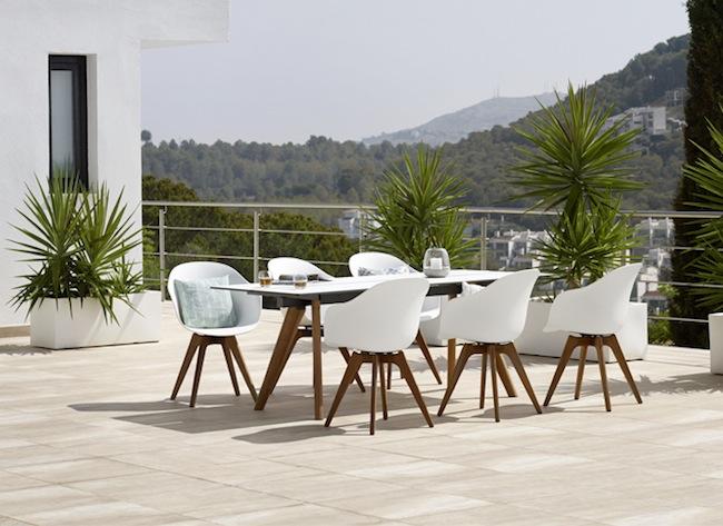 Crea un comedor en tu jard n o en tu terraza con adelaide - Comedores exteriores para terrazas ...