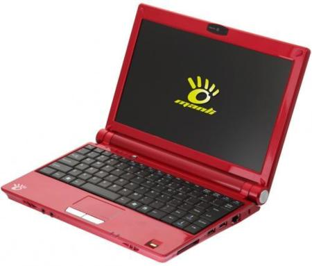 Manli M3: netbook con lo de siempre, pero con ExpressCard y lector de huellas