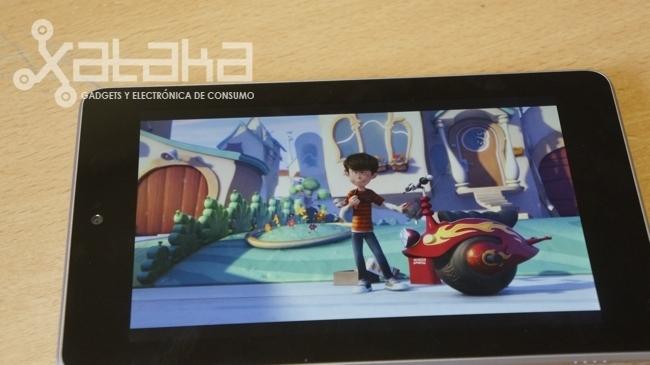 Nexus 7 análisis de su pantalla