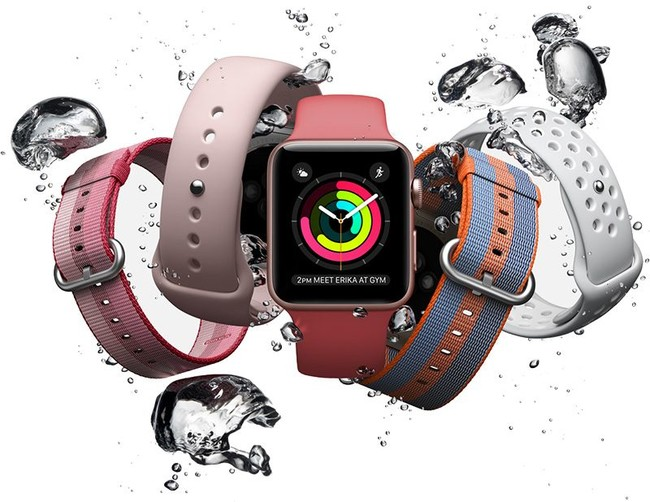 Apple Watch tres Splash 800x618