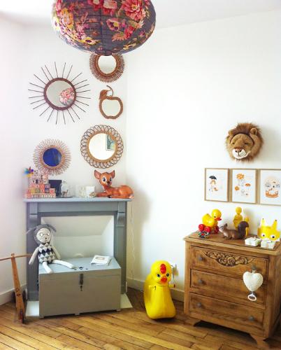 Dormitorio bebé vintage