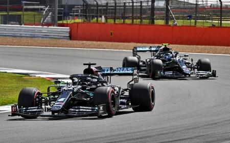 Hamilton Bottas Silverstone F1 2020