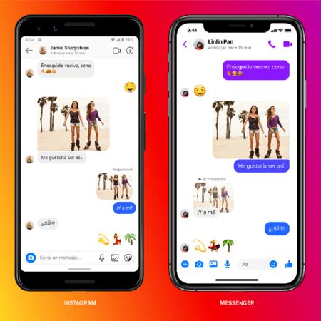 Nuevas Funciones Instagram Mensajes Cruzados Messenger