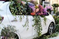 El Peugeot 108 Flower Market inundará las calles de Madrid