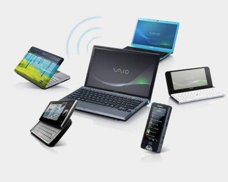 Sony convierte sus portátiles en puntos de acceso para el resto de gadgets