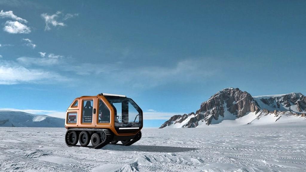 Venturi Antarctica, un coche eléctrico que quiere conquistar los polos con 120 kW y 45 km de autonomía