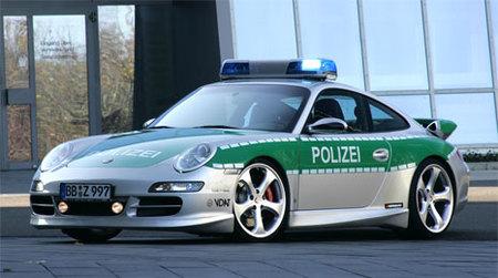 Porsche 911 S Carrera policial