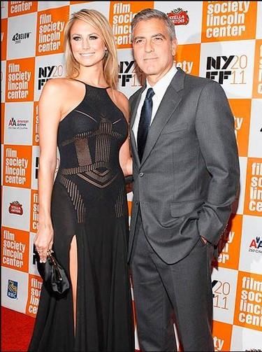 George Clooney, ya era hora de que posases con tu nueva novia