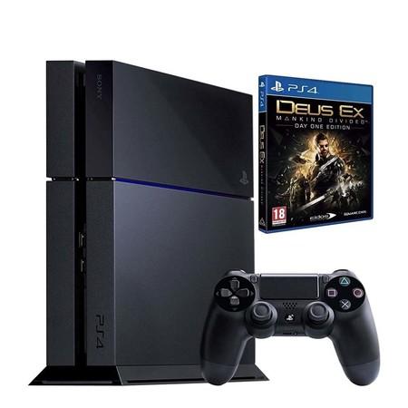 Sony PlayStation 4 1TB + Deus Ex: Mankind Divided por 259,90 euros