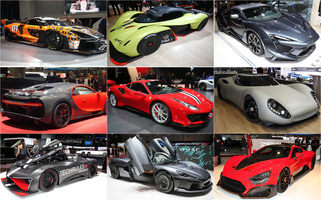 Los 11 coches más potentes del Salón de Ginebra