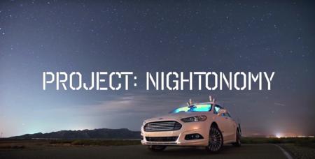 Los coches autónomos de Ford no tienen miedo a la oscuridad