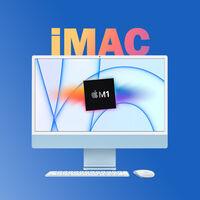 """El nuevo iMac de 24"""" con chip M1 está 150 euros más barato en Amazon y alcanza su precio mínimo histórico: 1.299 euros"""