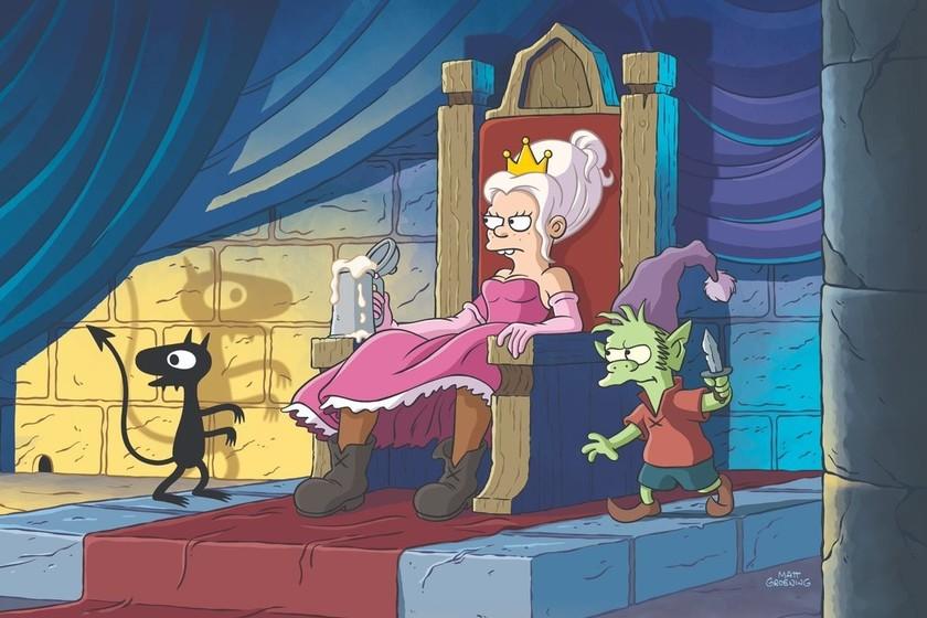 Primer vistazo a '(Des)encanto': la nueva serie de Matt Groening ya tiene fecha de estreno en Netflix