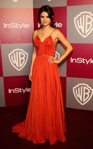 Alfombra Roja de la fiesta InStyle Warner Brothers