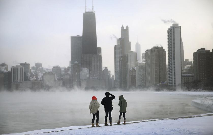 No es que haga mucho frío ahora, es que nos extraña que lo haga porque ya no es tan común