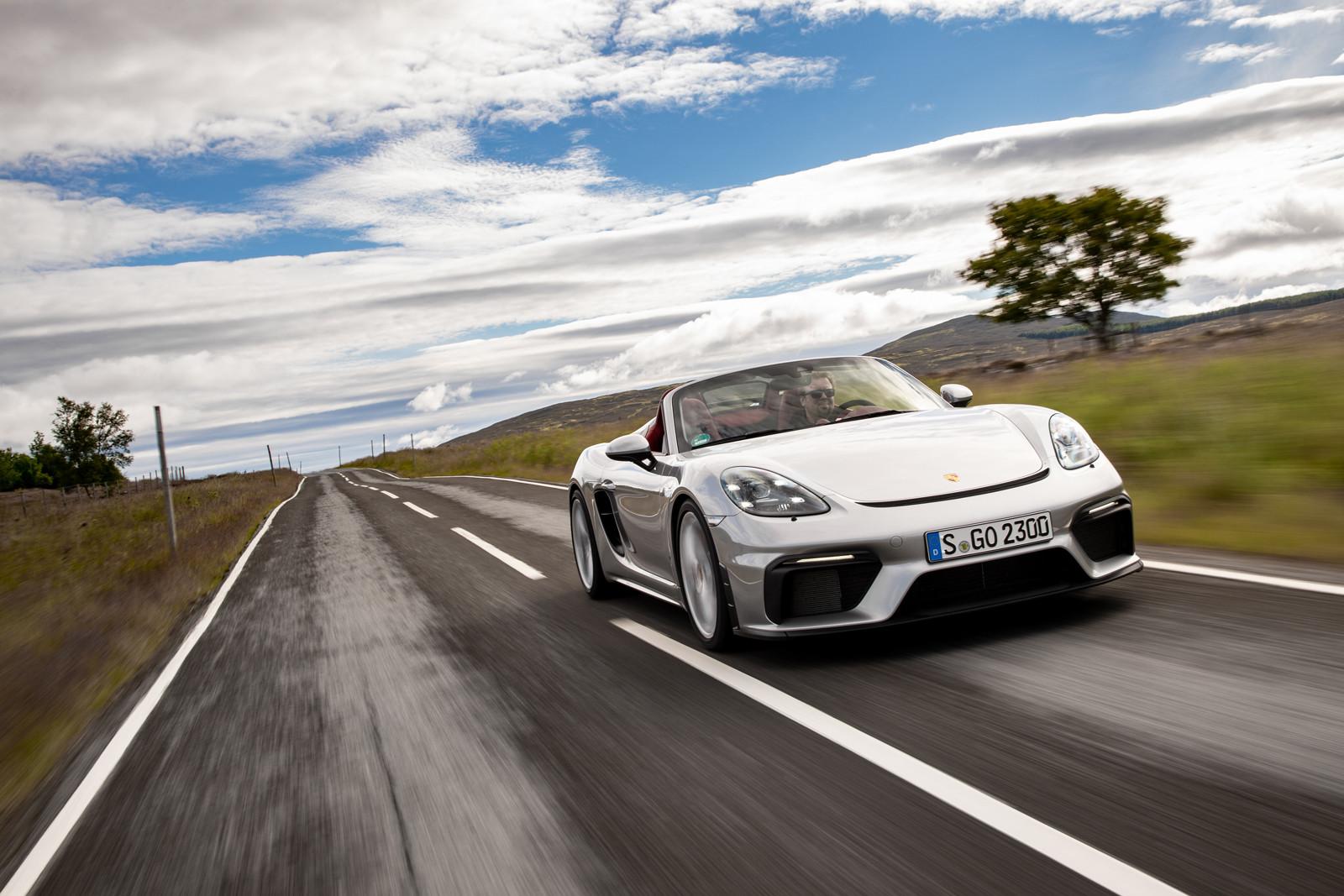 Foto de Porsche 718 Spyder (prueba contacto) (147/296)