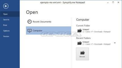 Notepad! Un editor de texto para Windows con interfaz Ribbon y mucho más