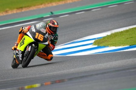 Andrea Migno domina los entrenamientos libres de Moto3 en Japón en espera de que llegue la lluvia