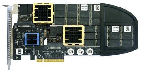 Unidades SSD ultra rápidas con Fusion ioDrive Duo