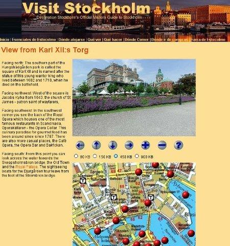 Paseos panorámicos virtuales por Estocolmo