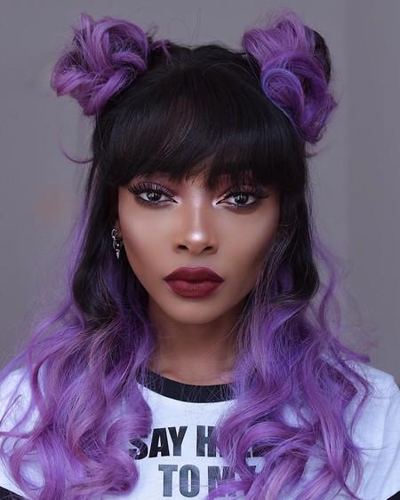 El Pantone de 2018 invade todas las melenas: alucinamos con el pelo ultravioleta