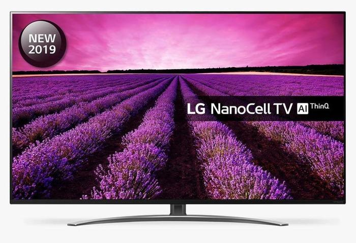 "TV LG 65"" 65SM8600PLA - 4K UHD, NanoCell, Alpha 7, Smart TV Think AI, 100% HDR, Dolby Atmos"