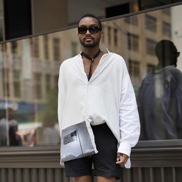 El blanco será el color que resuelva tus looks de verano: así se lleva en la calle