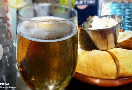 Raciones de chiringuito, la cerveza