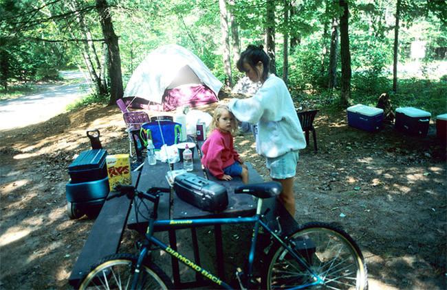 Camping con niños 3