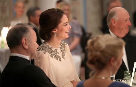 Kate Middleton enamora con sus estilismos (de día y de noche) durante su visita a Oslo