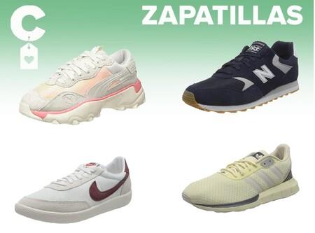 Chollos en tallas sueltas de zapatillas Puma, Nike, New Balance o Adidas en Amazon