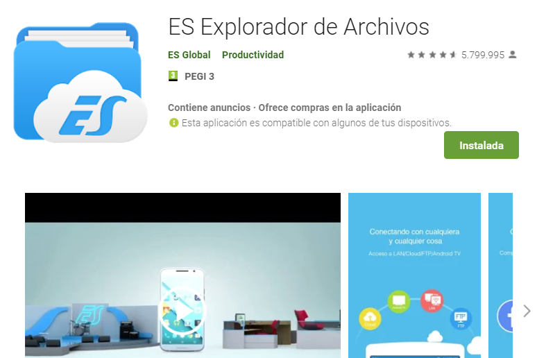ES File Explorer allows other users to access your mobile