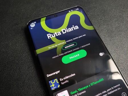Spotify combina música con podcasts de noticias en playlists personalizadas para los usuarios de México, así es Ruta Diaria