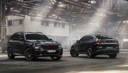 ¡Oda al lado oscuro! Los BMW X5 y X6 Black Vermilion ya tienen precio: una edición limitada y de traje exclusivo