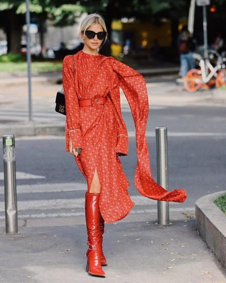 Rebajas 2020: añade a tu colección unas botas rojas