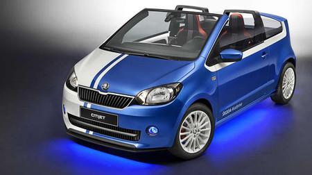 Škoda CitiJet concept, al descubierto
