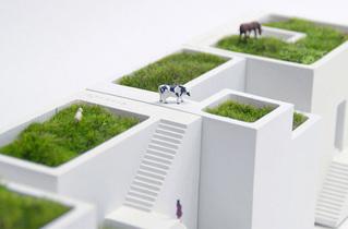 Ienami, macetas para crear paisajes en miniatura