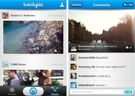 Twitpic se atreve con su propia aplicación para el iPhone