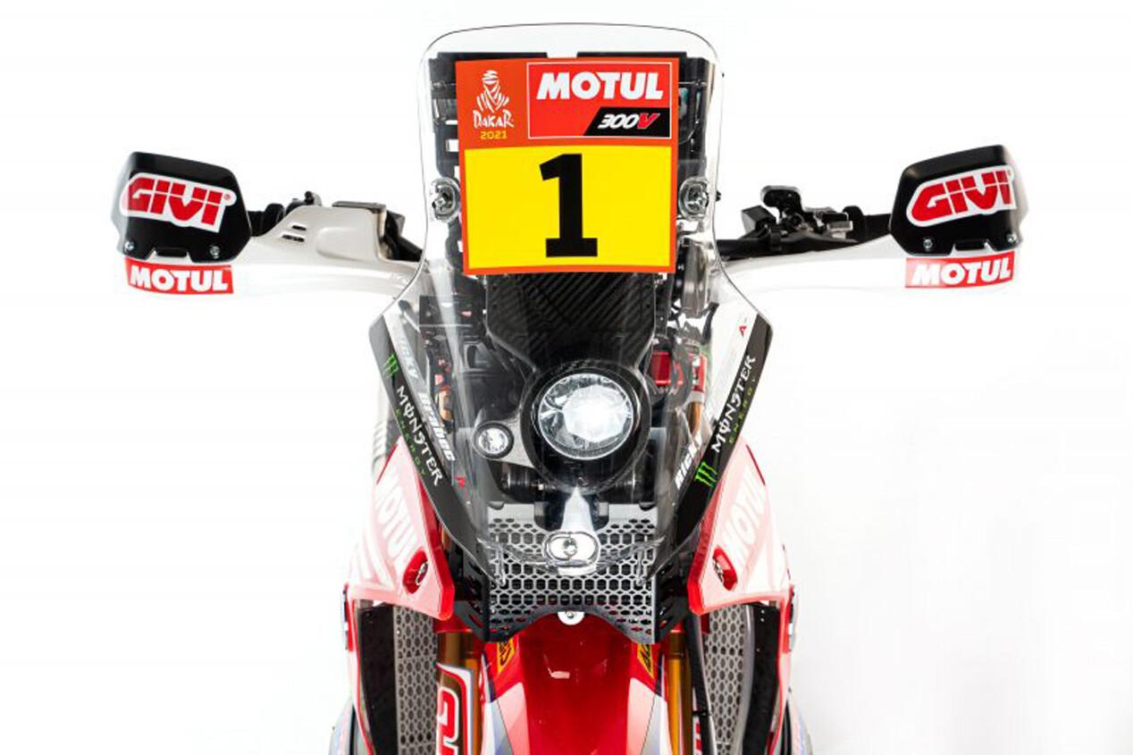 Foto de Honda CRF450 Rally Dakar 2021 (13/16)