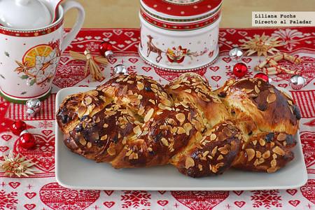 Pan Pulla o trenza finlandesa de cardamomo. Receta de Navidad
