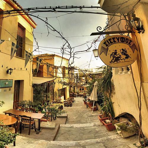 MonastirakiyPlaka:elcorazóndeAtenas(Grecia)