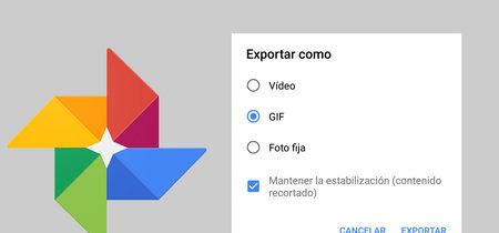 """Google Fotos permite convertir las """"Motion Photos"""" en vídeos y GIFs, te contamos cómo"""