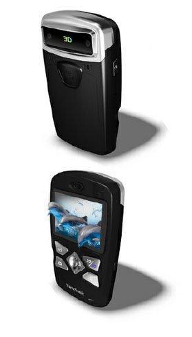 Viewsonic 3DV5, videocámara 3D compacta con pantalla tridimensional sin gafas