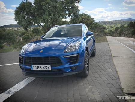 Porsche Macan frontal