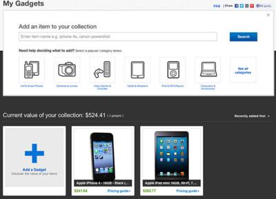 My Gadgets de Ebay, ¿en cuánto están valorados tus dispositivos?