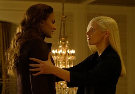 Sophie Turner con Jessica Chastain en la nueva entrega de X-Men