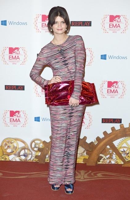 invitadas MTV EMA 2012