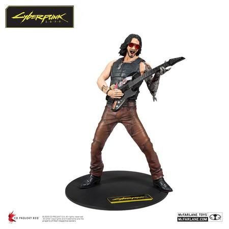 Cyberpunk 2077 Figura Keanu Reeves 02