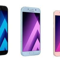 Samsung anuncia oficialmente los nuevos Galaxy A3, A5 y A7 2017: estas son todas sus especificaciones